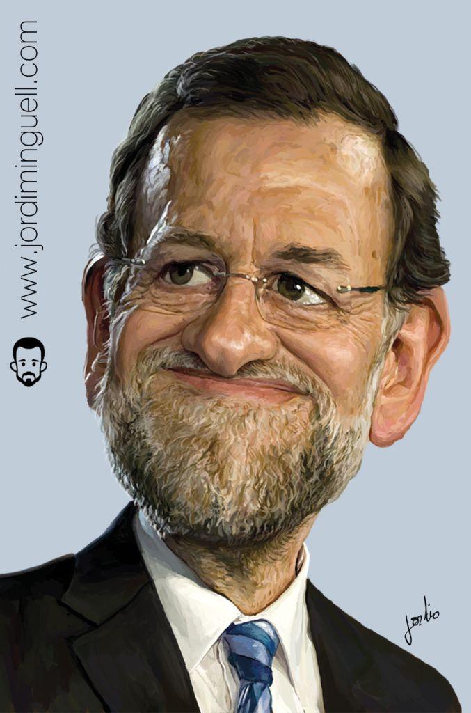 Mariano Rajoy por Jordi Minguell
