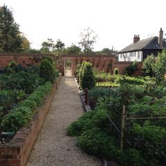 The Pig in the New Forset. This is their walled garden where they grown their own produce. Click to blog for full story  #walledgarden #thepig #brockenhurst #hampshire #restaurant #garden