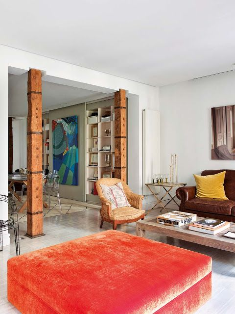 VM designblogg: Εκλεκτικό Διαμέρισμα στην Ισπανία