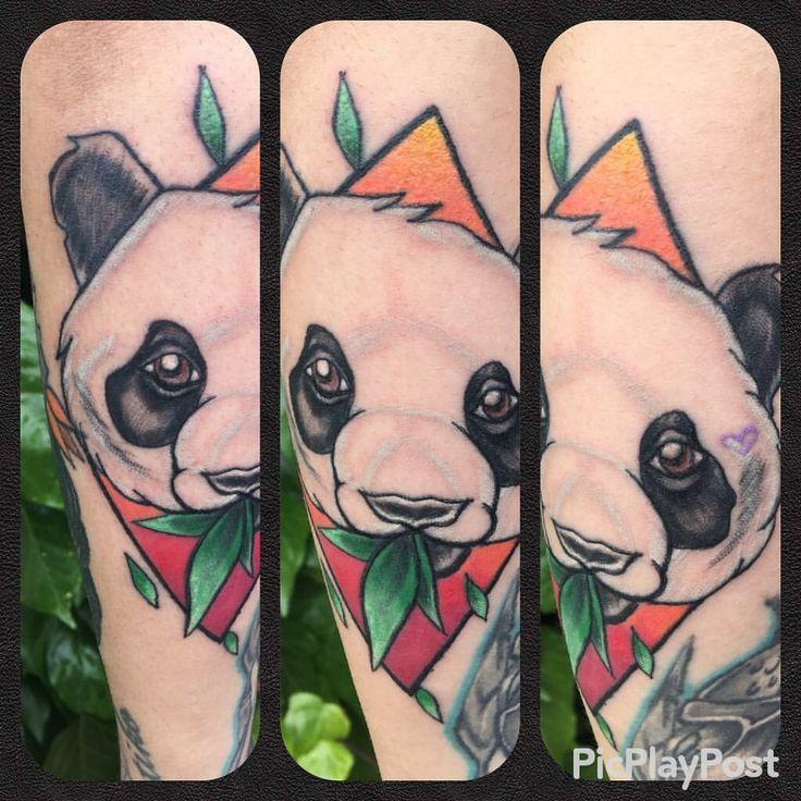 #tattooartist : #yelizgünay  #pandatattoo #panda #tattoo