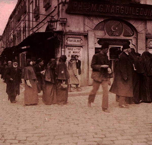 1915 - Eminönü Nargileciyan Mağazası