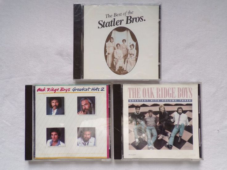 The Oak Ridge Boys Great Hits 2 & Vol. 3 CD & New - Best of The Statler Bros CD #PopRock
