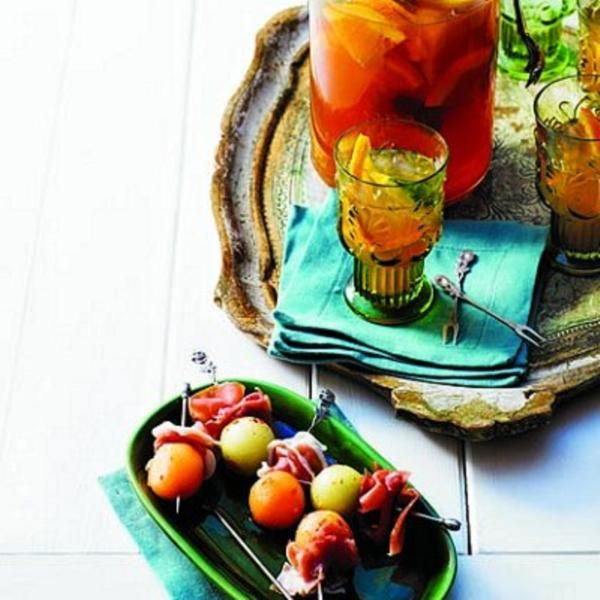 Spicy melon and prosciutto skewers recipe - Chatelaine.com