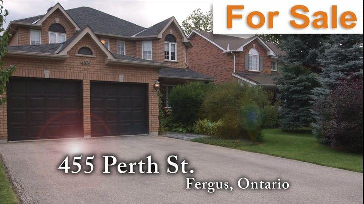 455 Perth Street, Fergus, Ontario : For Sale!