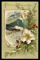 Il mondo di Sissi: Cartoline di Natale: una tradizione ottocentesca!
