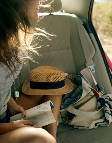 Beach trip: The Roads, Summer Hats, Summer Day, Summer Roads Trips, Straws Hats, Summer Trips, Cars Riding, Cars Trips, Roadtrip