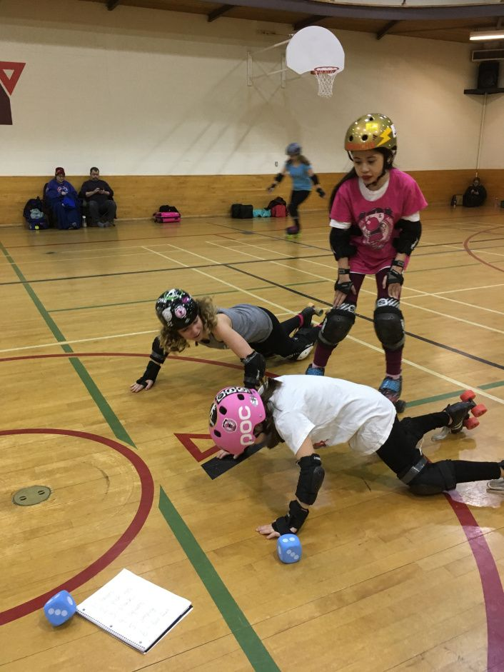 tips, games & drills for JUNIOR ROLLER DERBY coaches