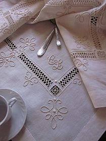 haft ażurowy