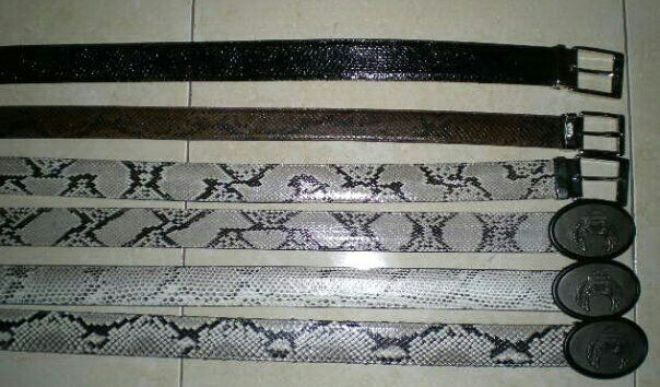 Handmade phyton skin belt. For more orders, Email : yuns2506@yahoo.com or whatsapp : +62 81317203406