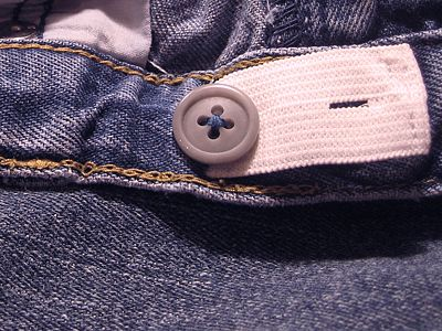 How to add adjustable waist to kids' pants!