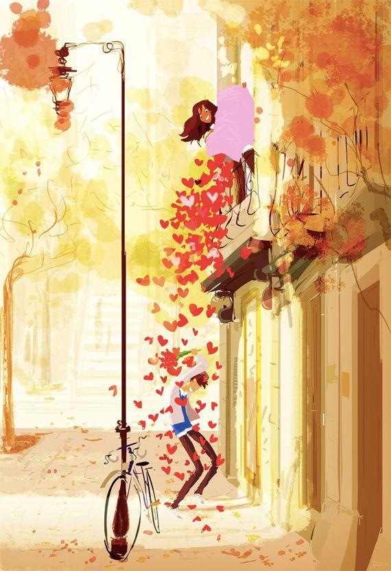 Ilustraciones que te harán suspirar porque demuestran que el amor verdadero sí existe