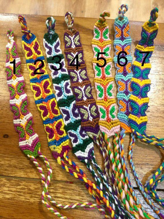 Handmade friendship bracelet woven bracelet