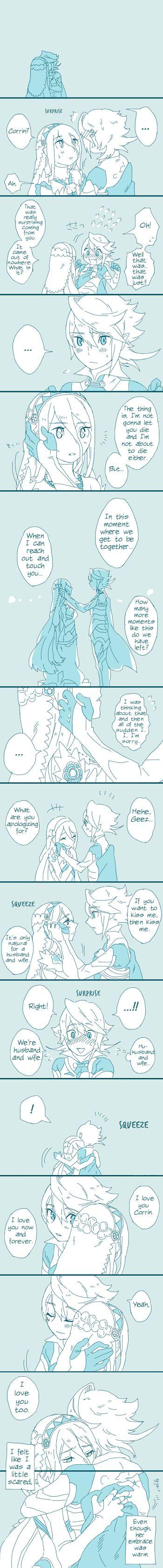 Fire Emblem Fates - Corrin x Azura comic [English translated]