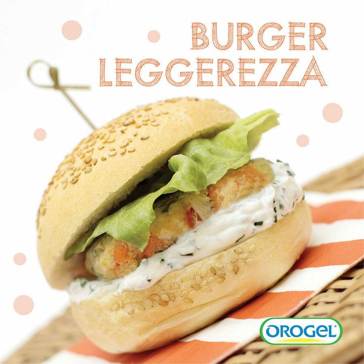 Burger con verdure leggerezza e yogurt greco profumato