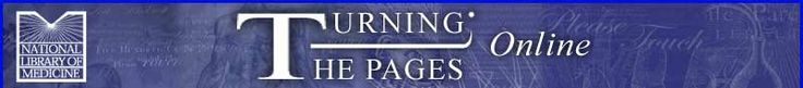 Turning The Pages Online: Book Menu