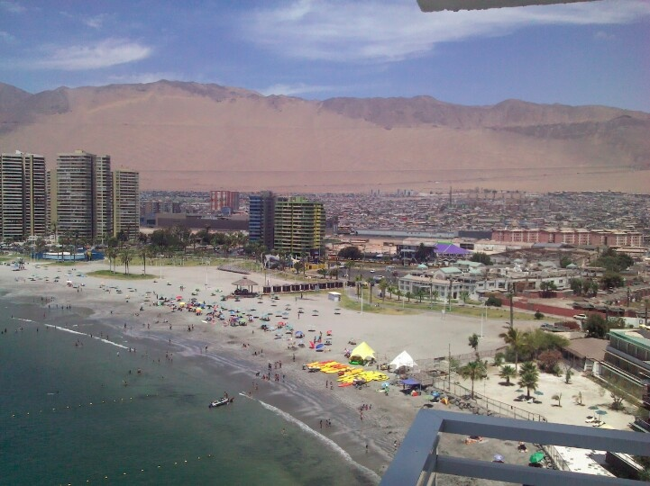Iquique, Chile has some lovely beaches