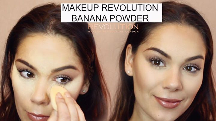 BANANA POWDER TUTORIAL 🍌💛 Head over to our YouTube to watch! https://youtu.be/Z8D1AcOrhbg #ladyloungedotnet