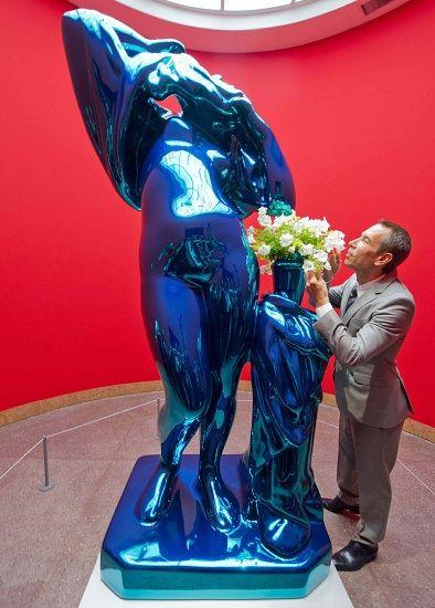 Jeff Koons a Francoforte