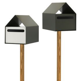 Arko Letterbox Woodland Grey from Ute Design