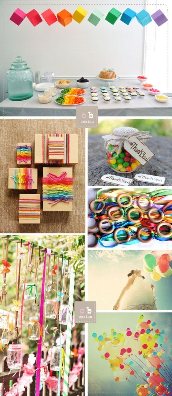 cartabianca Wedding & Happy Event Design: Tutti i colori dell'arcobaleno