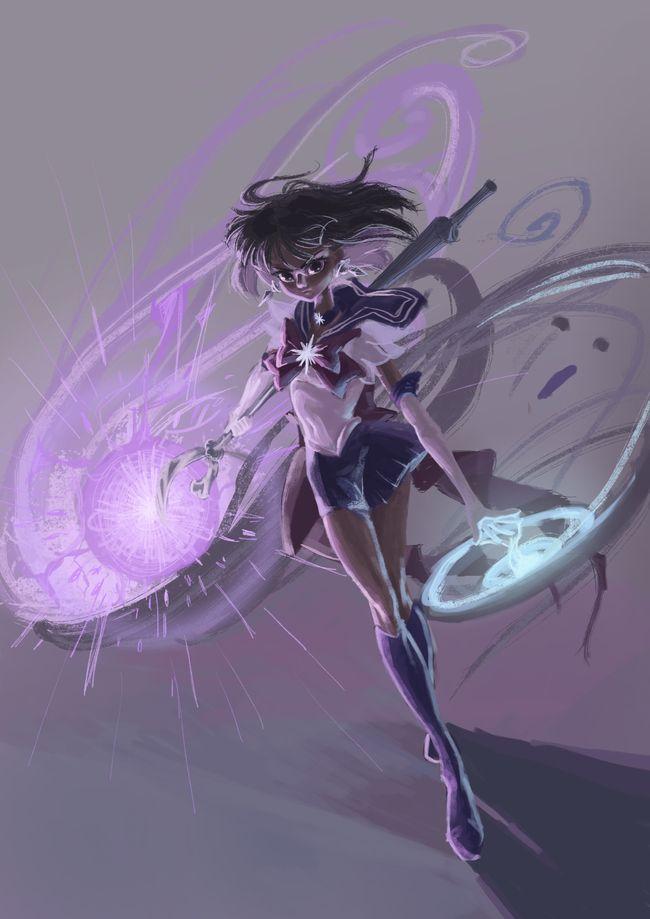 Sailor Saturn by 教主菊花精