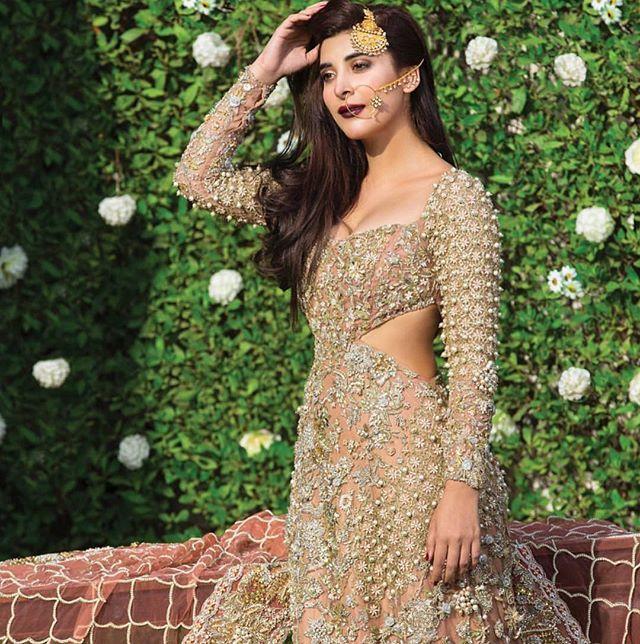 @urwatistic looking stunnung in this gorgeous Republic Womenswear bridal in an exclusive feature for OK magazine  #couture #pakistanvogue #asianfashion #weddingideas #republicwomenswear #urwa#ok