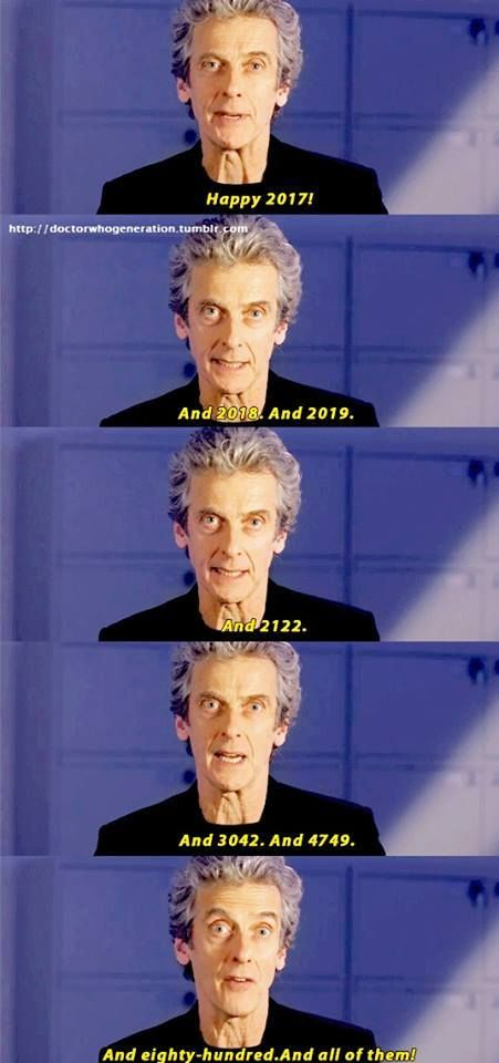 Doctor Who: Happy New Year