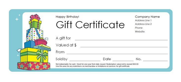 173 Custom Gift Certificate Templates for Every Occassion: Vertex42's Free Gift Certificate Templates