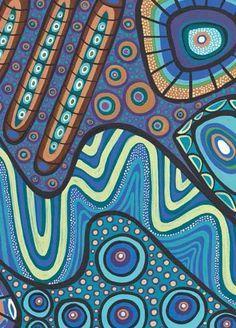 bronwyn bancroft aboriginal artist - Google Search