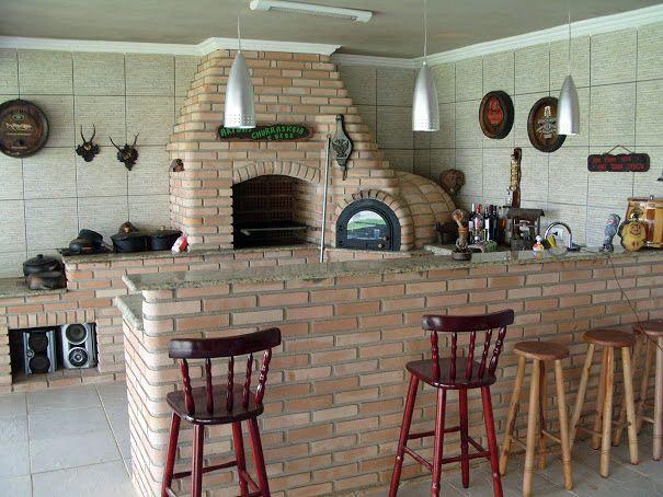Construir churrasqueira, forno iglu e fogão integrados - São Paulo (São Paulo)   Habitissimo