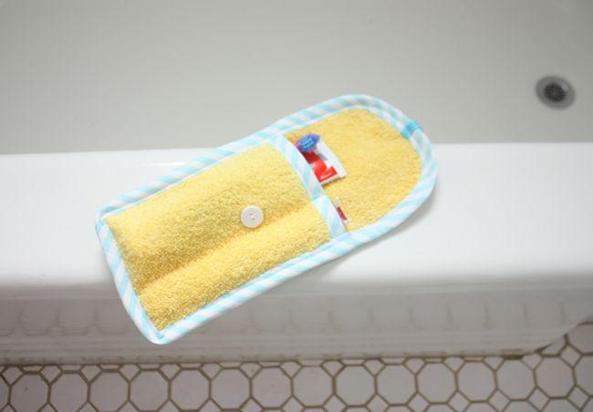 travel handmade: toothbrush & toothpaste case DIY tutorial - Noodlehead