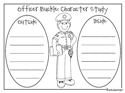 Character Analysis: Officer Buckle Style!