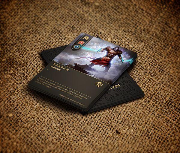 MahaYodha - Card Game on Behance