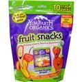 Yummy Earth, Фруктовые закуски, бананы, вишня, персик и клубника, 10 упаковок , 6.2 унции (176 г) каждая