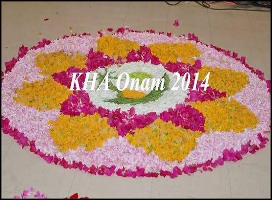 KHA Onam Celebrations http://www.andhrawishesh.com/home/telugu-headlines-top-stories/47363-kha-onam-celebrations.html  Onam is the most important festival of people from Kerala, in India. It is reminiscent of Kerala's agrarian past, as it is considered to be a harvest festival. Most Malayalis try to go back to their village in Kerala to celebrate the festival.