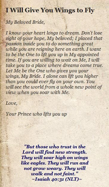 145 best my fathers love letters to me images on pinterest bible his princess love letters spiritdancerdesigns Gallery