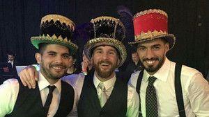 El 'desfase' final en la boda de Leo Messi y Antonela Roccuzzo http://www.sport.es/es/noticias/barca/desfase-final-boda-leo-messi-antonella-roccuzzo-6142115