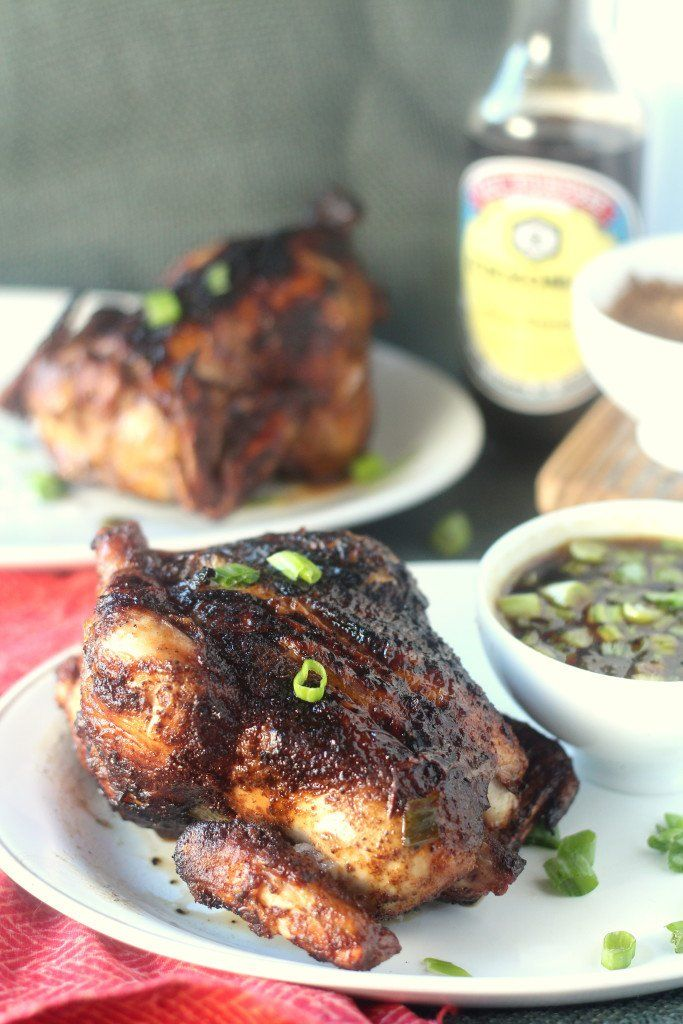 """<p>Rubbed in five-spice powder, garlic, and ginger, then basted with a soy-based Mongolian grill sauce, these ornish game hens are crazy delicious!</p> <p>Get the recipe <a href=""""http://blackberrybabe.com/2015/08/31/ad-five-spice-grilled-cornish-hens-with-mongolian-barbecue-sauce/"""" target=""""_blank"""">here!</a></p>"""
