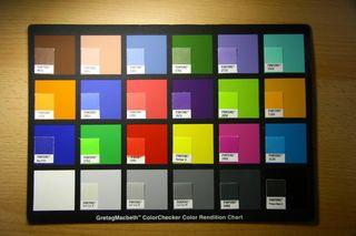DIY Macbeth Color Checker