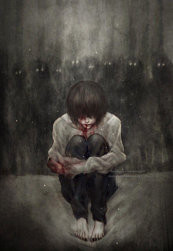 Картинки одиночество кровь