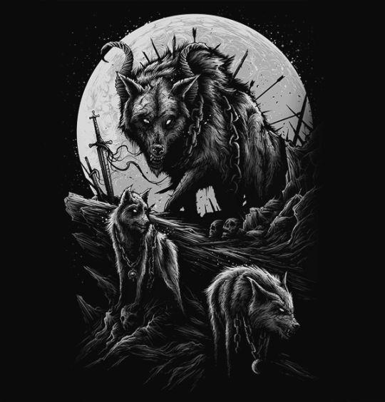 Werewolf Art by Dan Mumford