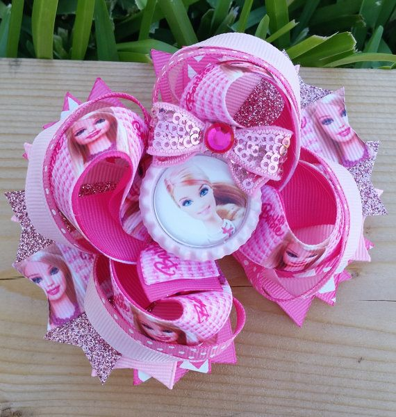 Barbie Boutique Hair Bow by MirianCarrion on Etsy, $8.99