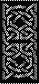 Celtic Knot 2. Peyote stitch