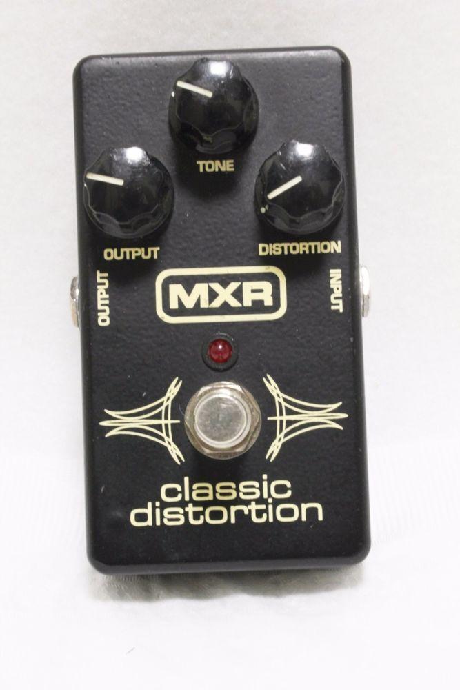 MXR Classic Distortion Electric Guitar foot Pedal M-86 Footswitch Effect FX   #MXR  #Distortion #Electric #Guitar #foot #Pedal #M-86 #Footswitch #Effect