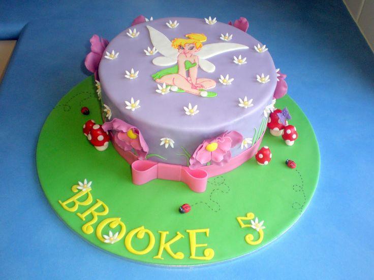 Easy to Make Tinkerbell Cakes | ll need to decide on a cake make sure to