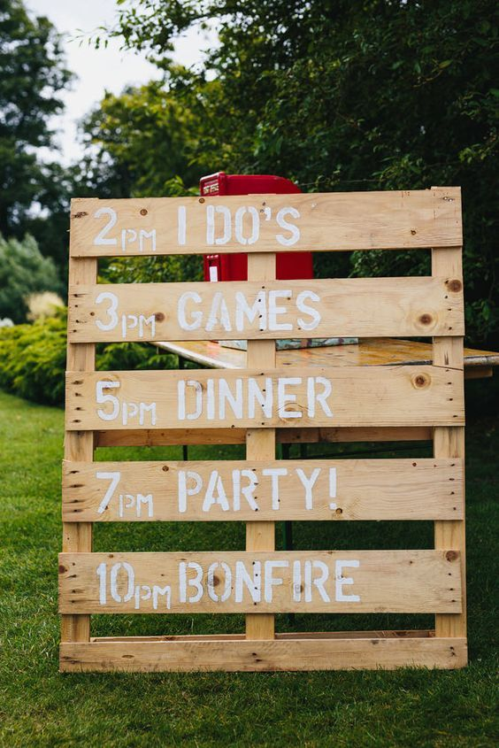 wedding ideas with wooden pallets say i do to these fab 100 rustic wood pallet wedding 27923