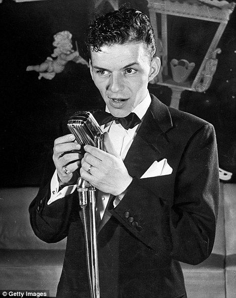 Frank Sinatra: Frank started the singing career which would bring him such success in a local nightspot