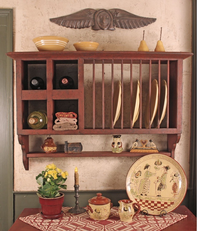 Wine and plate rack & 126 best Plate Rack images on Pinterest   For the home Kitchens and ...