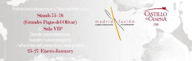 Nos vemos en MADRIDFUSIÓN donde presentaremos nuestro nuevo proyecto #ArbequinaCo  See you at #MF16 where we will present our new project Arbequina&Co.