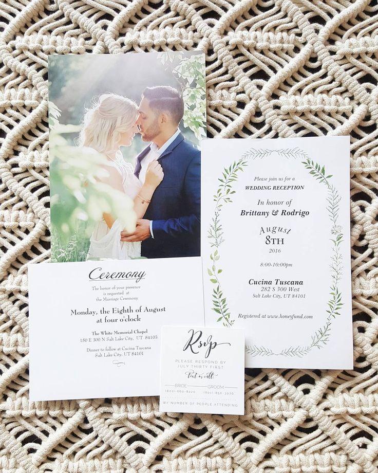 wedding stationery invitations cards by vistaprint - A Wedding Invitation